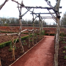 Packwood kitchen garden