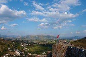 Shkoder kasteel Albanië