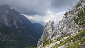 Ruigen bergen Albanië alpen