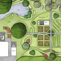 tuinontwerp natuurlijk en modern